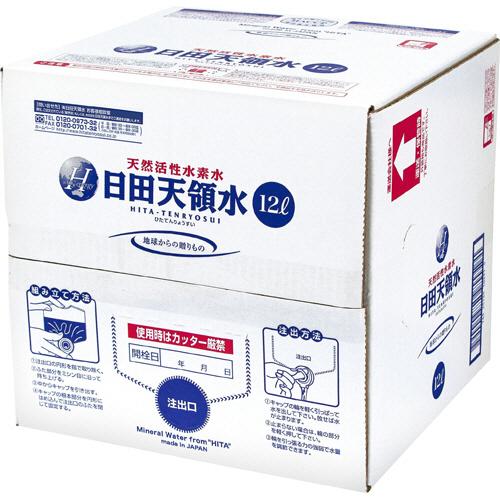 日田天領水 12L バッグインボックス 1セット(2箱)