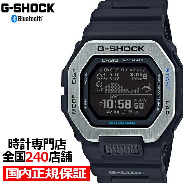 G-SHOCK Bluetooth搭載 G-LIDE GBX-100-1JF (ブラック)の商品画像 ナビ