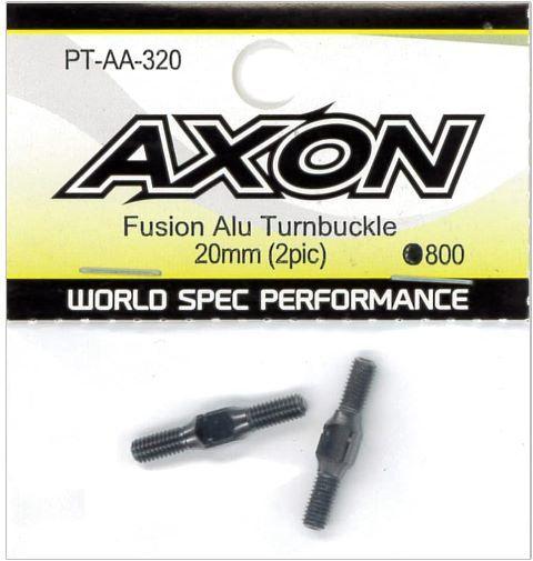AXON Fusion Alu Turnbuckle 20mm (2pic) PT-AA-320の商品画像|ナビ