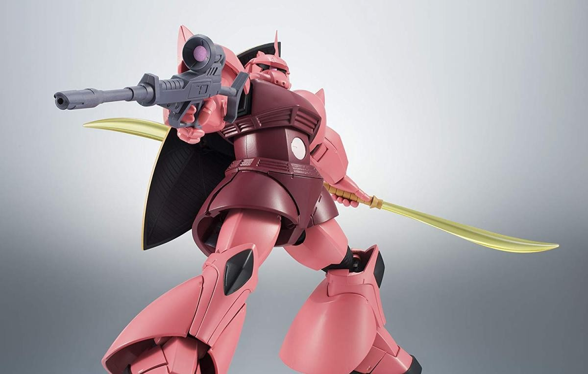 ROBOT魂 <SIDE MS> MS-14S シャア専用ゲルググ Ver. A.N.I.M.E.の商品画像|4