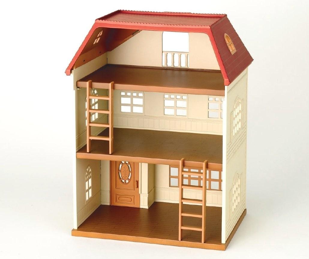 エポック社 シルバニアファミリー 3階建てのおしゃれなお家の商品画像 ナビ