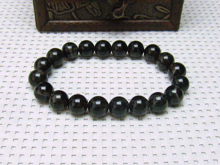 モリオン 黒水晶  ブレスレット