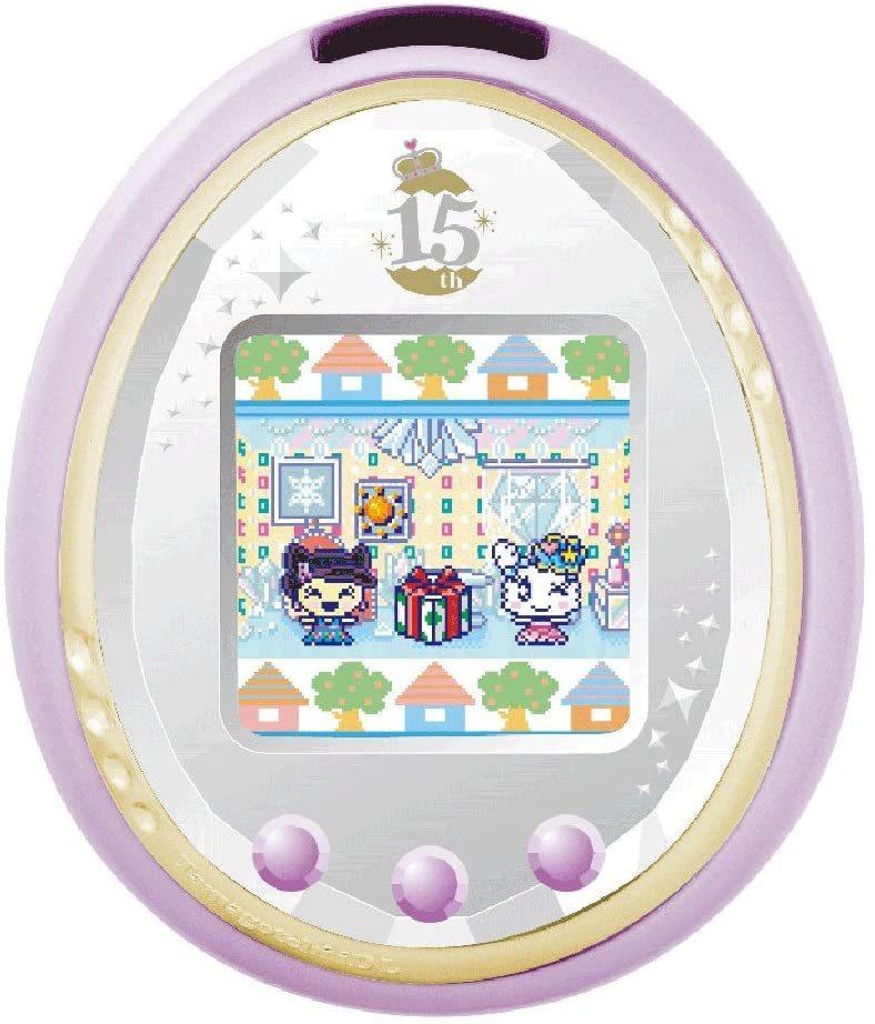 バンダイ たまごっち Tamagotchi iD(L 15th Anniversary ver. ロイヤルパープル)の商品画像|ナビ