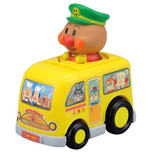 ジョイパレット プッシュゼンマイ ようちえんアンパンマンバスの商品画像 ナビ