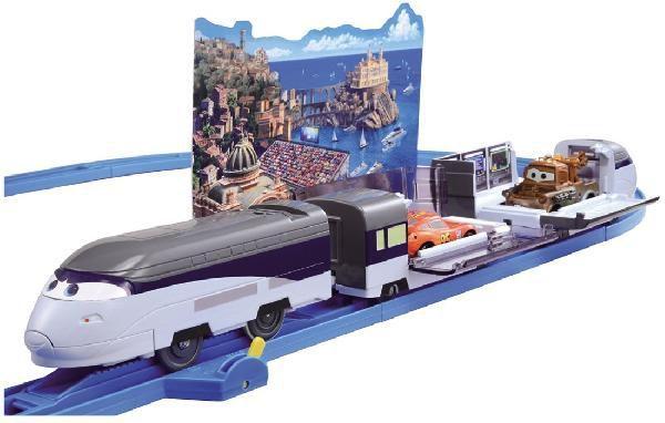 タカラトミー プラレール カーズ スティーブンソンレールセットの商品画像|ナビ
