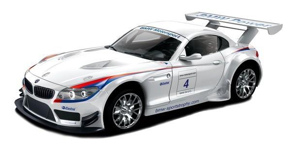童友社 1/24RC 2.4GHz No.16 BMW Z4 GT3 ホワイトの商品画像|ナビ