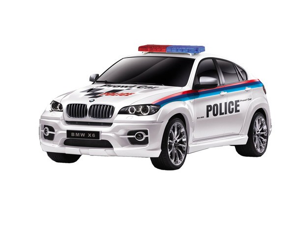 童友社 1/24RC 2.4GHz No.21 BMW PoliceCarの商品画像|ナビ
