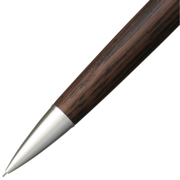 三菱鉛筆 ピュアモルト オークウッド・プレミアム・エディション ノック式(ブラック)0.5mm M5-2005の商品画像|3