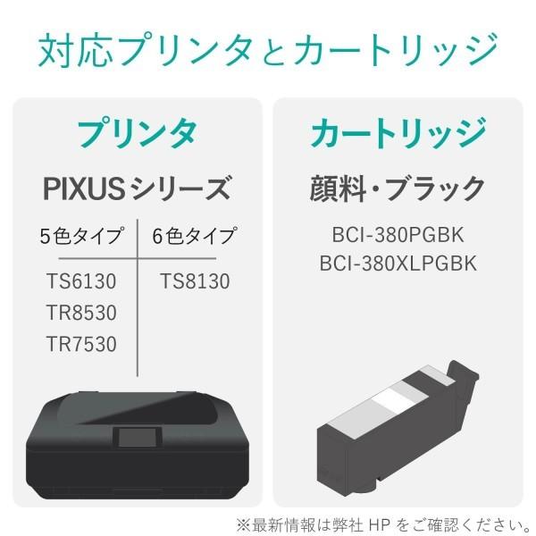 詰め替えインク THC-380PGBK4 (顔料ブラック・4回分+専用工具)の商品画像|2