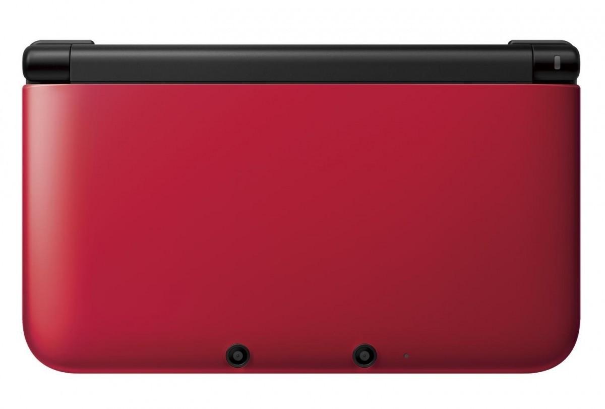 任天堂 ニンテンドー3DS LL レッド×ブラックの商品画像 ナビ