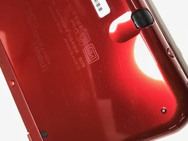 任天堂 Newニンテンドー3DS LL メタリックレッドの商品画像|3