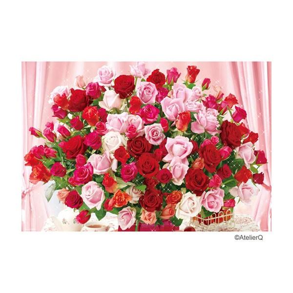 ジグソーパズル 100本のバラ 1000ピース 49x72cm 61-343の商品画像|ナビ