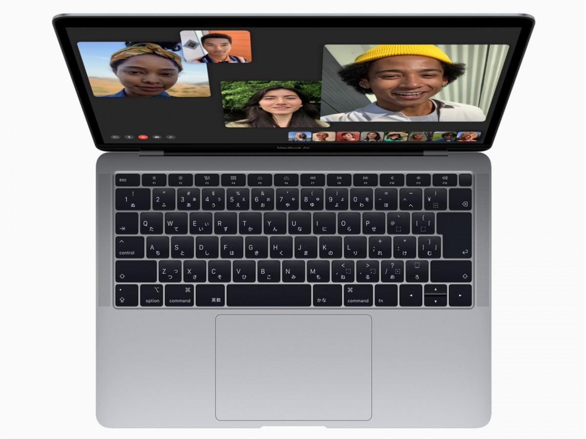 MacBook Air 13インチ スペースグレイ [MRE92J/A 2018モデル]の商品画像 2