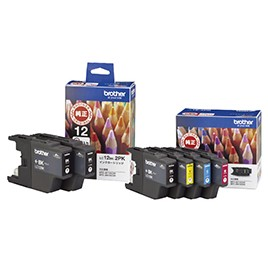 ブラザー工業 インクカートリッジ LC12BK-2PK(お徳用ブラック2個パック)の商品画像|3