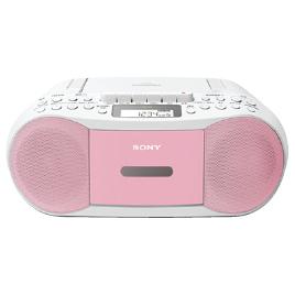 CDラジオカセットレコーダー CFD-S70(P) ピンクの商品画像|2