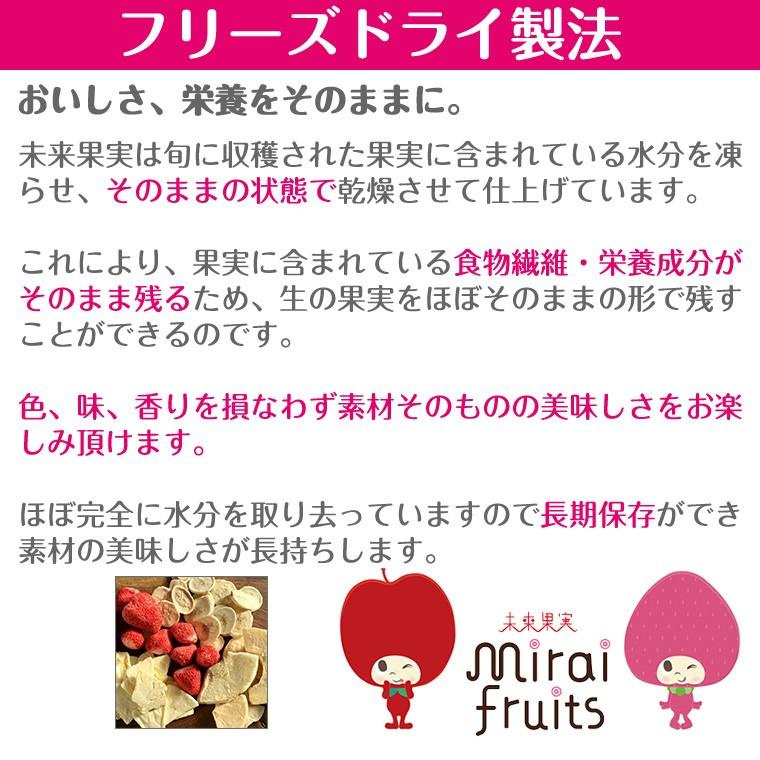 ミライフルーツ いちご 10g×10個の商品画像 4