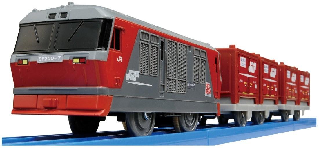タカラトミー プラレール DF200レッドベア S-27の商品画像|ナビ