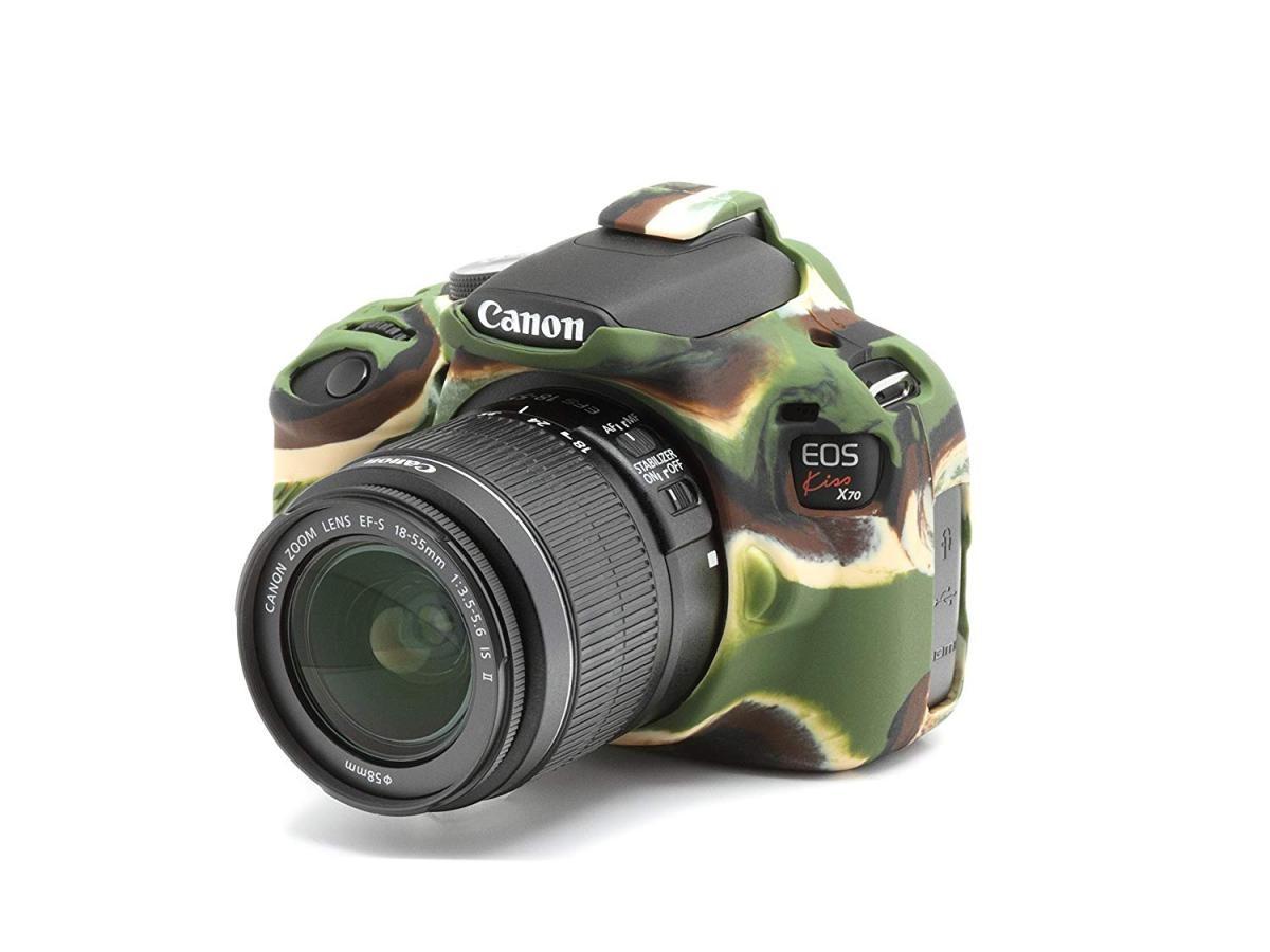 ディスカバード イージーカバー Canon EOS Kiss X70 用(カモフラージュ)の商品画像|2