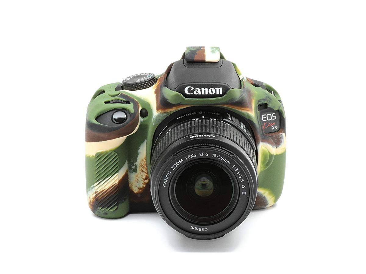 ディスカバード イージーカバー Canon EOS Kiss X70 用(カモフラージュ)の商品画像|3