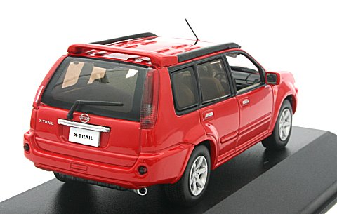 ニッサン X-TRAIL GT2005(バーニングレッド) (1/43スケール JC19073BR)の商品画像|2