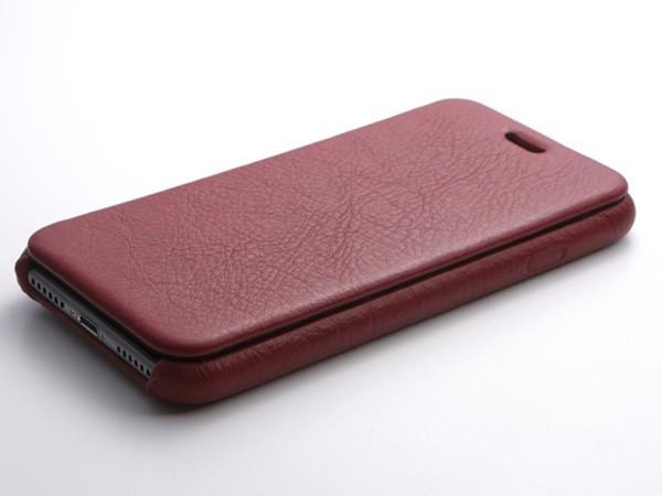 RONDA Spanish Leather Case for iPhone 8/7 フリップタイプ ブラック DCS-IP7RAFSLBKの商品画像 3