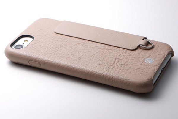 RONDA Spanish Leather Case for iPhone 8/7 フリップタイプ ブラック DCS-IP7RAFSLBKの商品画像 4