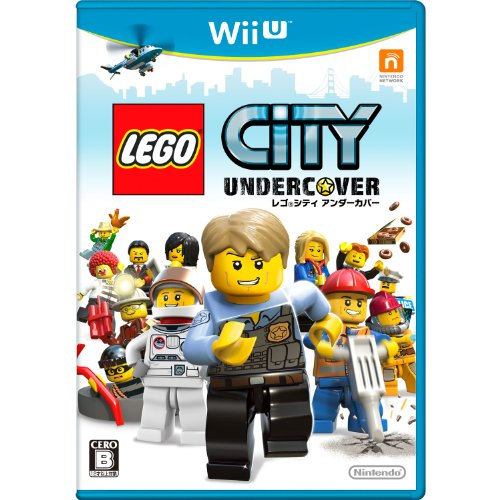 【Wii U】任天堂 レゴ シティ アンダーカバーの商品画像 ナビ