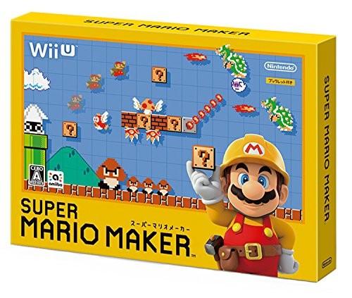 【Wii U】任天堂 スーパーマリオメーカー [通常版]の商品画像|ナビ