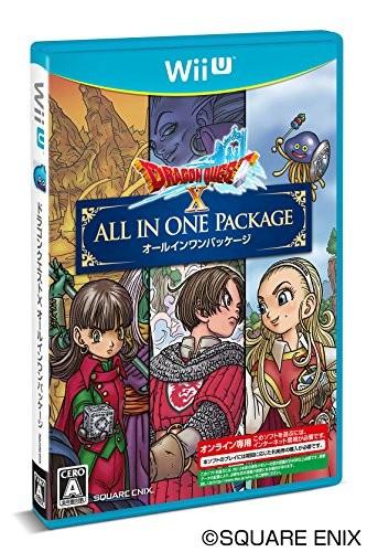 【Wii U】スクウェア・エニックス ドラゴンクエストX オールインワンパッケージの商品画像|ナビ