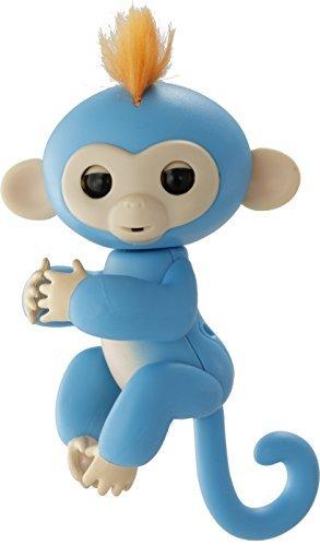 ハピネット 小っちゃな手のりモンキー ハグミン(ブルー)の商品画像|ナビ