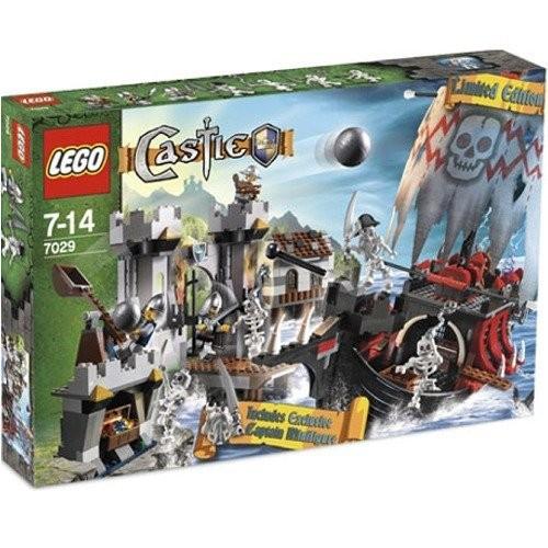 レゴ 7029 ガイコツシップ vs 砦の騎士団の商品画像|ナビ
