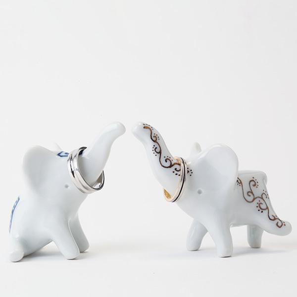 ゾウのリングホルダーの画像6