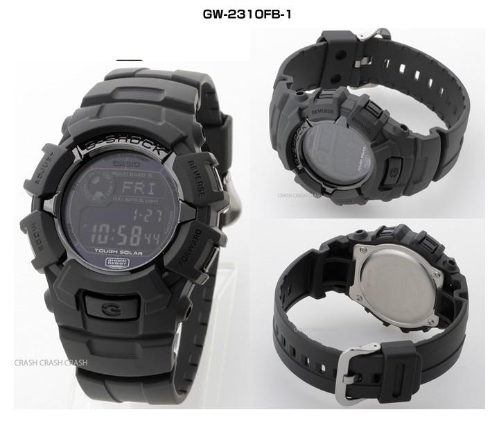 カシオ G-SHOCK グロッシーブラックシリーズ GW-M5610BB-1(ブラック)の商品画像 4
