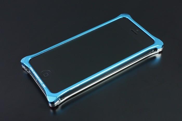 ギルドデザイン Solid Bumper for iPhone SE/5s/5 EVANGELION Limited REI MODEL GIEV-262REI 41901の商品画像|2