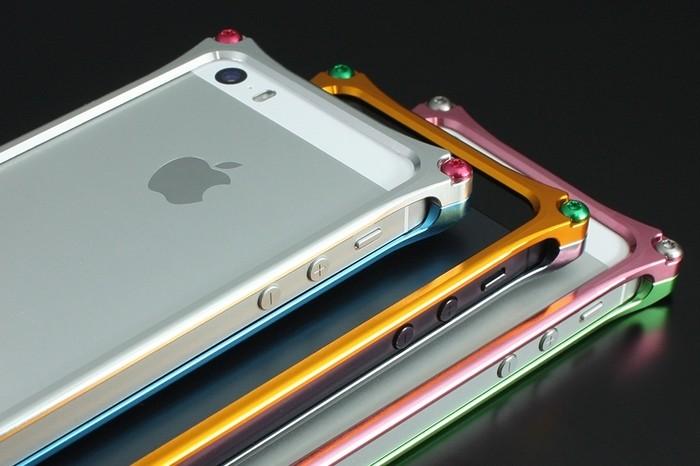 ギルドデザイン Solid Bumper for iPhone SE/5s/5 EVANGELION Limited REI MODEL GIEV-262REI 41901の商品画像|4
