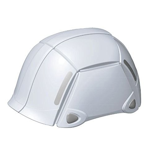 防災用折りたたみヘルメット 折りたたみヘルメット 防災 TOYO トーヨーセフティー BLOOM ブルーム/ホワイト NO.100 4962087108412