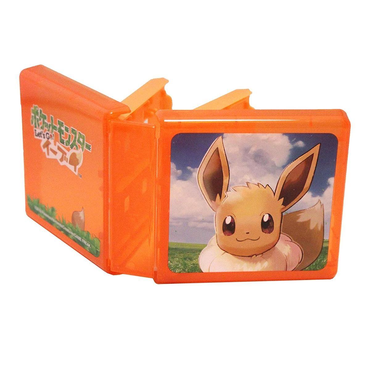 Nintendo Switch専用 カードポケット24 ポケットモンスター Let's Go!イーブイ HACF-02EEの商品画像|ナビ