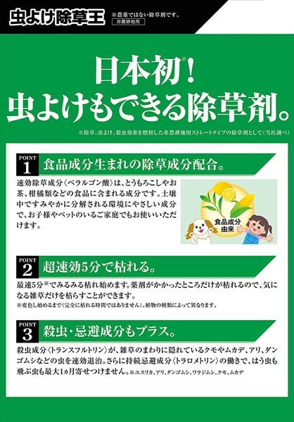 フマキラー 虫よけ除草王 1000mlの商品画像|3