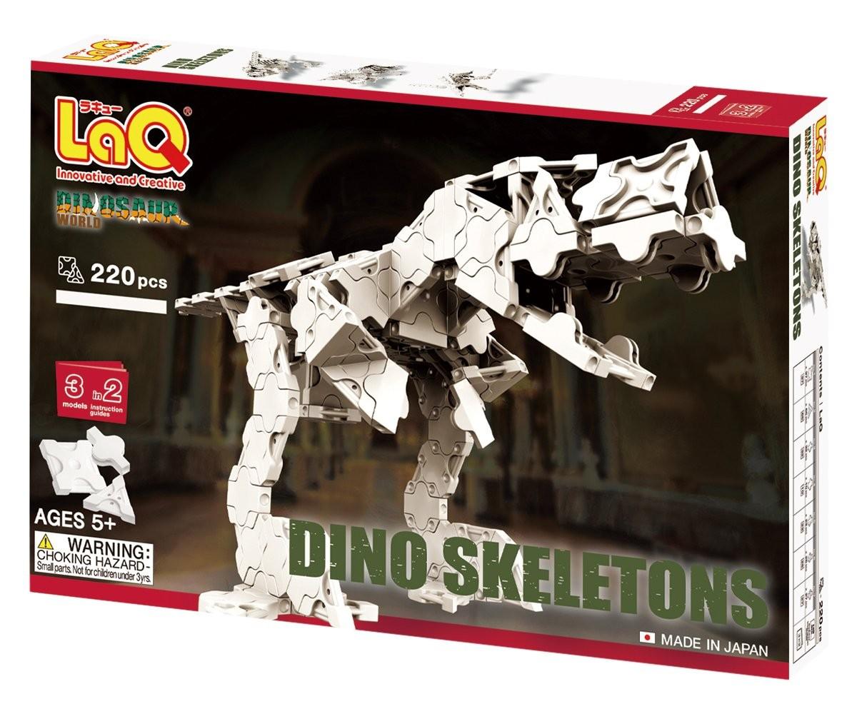 ラキュー ダイナソーワールド 恐竜骨格の商品画像|ナビ