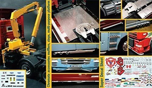 トラック カスタム&ディテールアップパーツセット (1/24スケール IT3854)の商品画像 ナビ