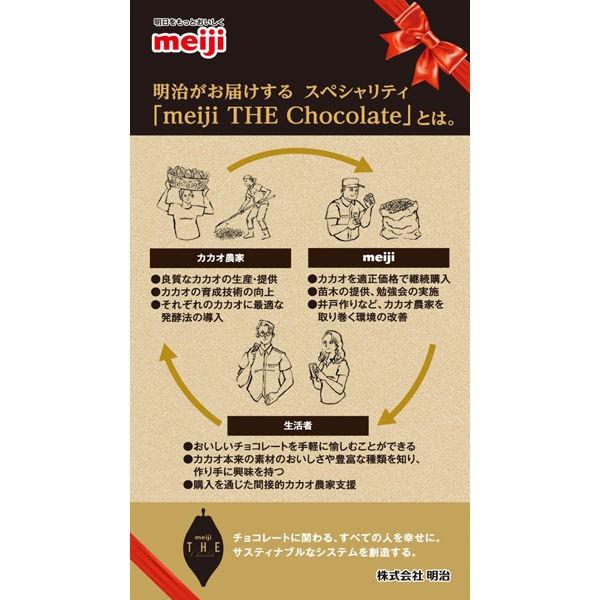 明治 ザ・チョコレート 華やかな果実味エレガントビター 3枚 50g×1個の商品画像|3