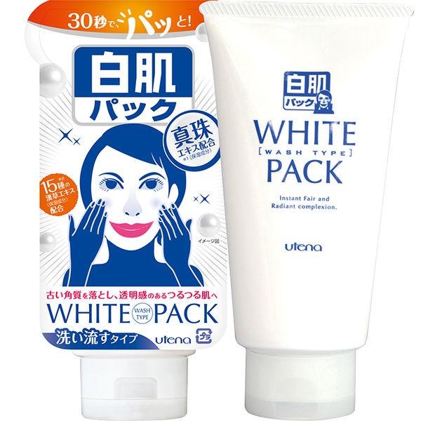 ウテナ 白肌パック 洗い流すタイプ 140gの商品画像|2