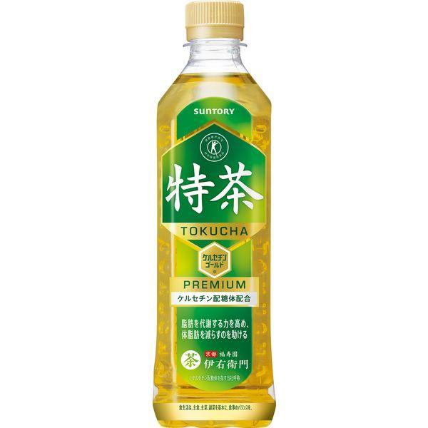 サントリー緑茶 伊右衛門 特茶 500ml × 6本 ペットボトルの商品画像|2