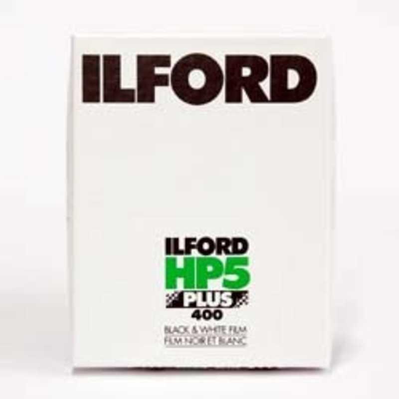 ILFORD HP5 PLUS 400 HP5PLUS4X525 [大判(4×5) / 白黒 / ネガ / 25シート]の商品画像|ナビ