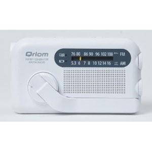 QRIOM 手回し充電ラジオ YTM−R100 ホワイト