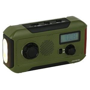 手回し充電ラジオライト DJLH363