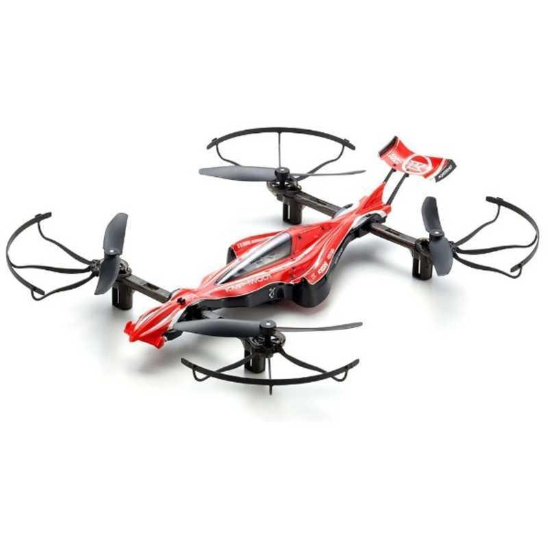 京商 DRONE RACER G-ZERO(ドローンレーサー ジーゼロ)シャイニングレッド レディセット 20571Rの商品画像 ナビ