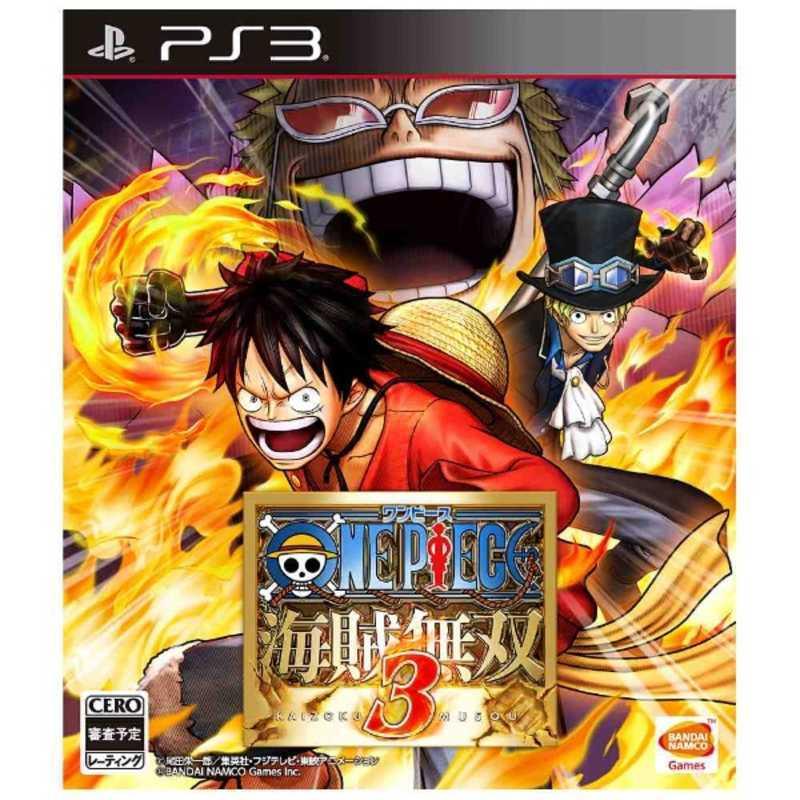 【PS3】バンダイナムコエンターテインメント ワンピース 海賊無双3の商品画像|ナビ