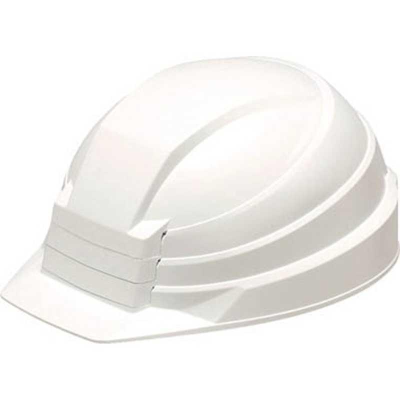 DICプラスチック 折りたたみ防災用ヘルメット「IZANO」AA13型HA4−K13式(ホワイト) AA13ガタHA4K13シキ(ホワイ