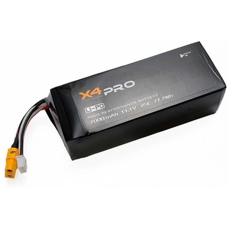 ハイテック Li-Poバッテリー 11.1V 7000mAh(X4 PRO) H109S-17の商品画像|ナビ